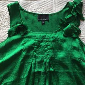 Cynthia Rowley green top